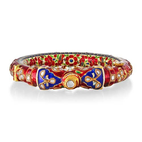 5.93ct. diamond bangles set with diamond in jadau bangles