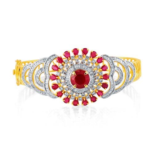 7.77ct. hydro bracelet set with diamond in fancy bracelet