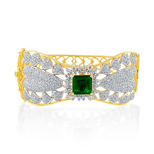 4.73ct. hydro bracelet set with diamond in fancy bracelet