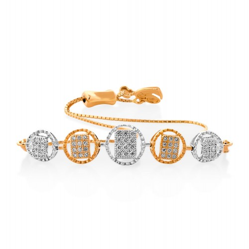 14Kt. Gold Diamond Bracelet