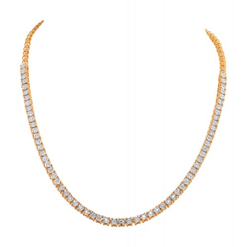 14Kt. Gold Diamond Necklace