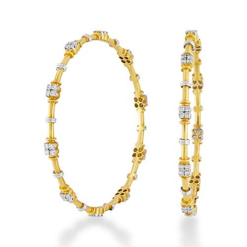 2.53ct. diamond bangles set with diamond in fancy bangles