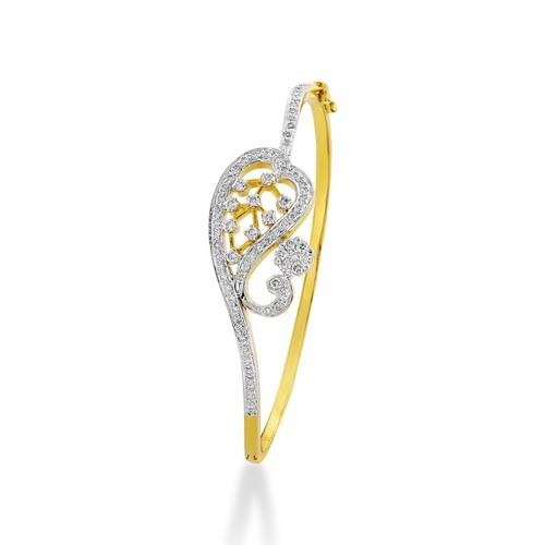 1.03ct. diamond bracelet set with diamond in fancy bracelet