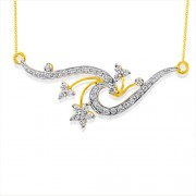0.92ct. diamond mangalsutra set with diamond in fancy mangalsutra