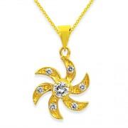 0.18ct. diamond pendant set with diamond in casual pendant