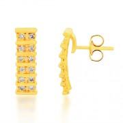 0.21ct. diamond earrings set with diamond in casual earrings