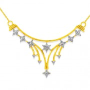 0.89ct. diamond pendant set with diamond in casual pendant