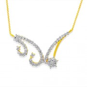 0.58ct. diamond mangalsutra set with diamond in casual mangalsutra