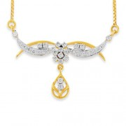 0.63ct. diamond mangalsutra set with diamond in mangalsutra mangalsutra