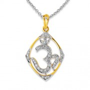 0.6ct. diamond pendant set with diamond in religious pendant