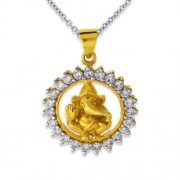 0.97ct. diamond pendant set with diamond in religious pendant