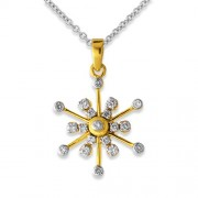 0.26ct. diamond pendant set with diamond in fancy pendant