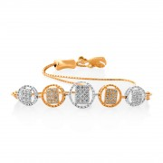 14Kt. Gold Diamond Bracelet