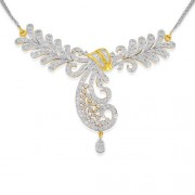 3.15ct. diamond necklace set with diamond in fancy necklace