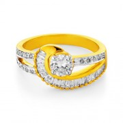 0.88ct. diamond ring set with diamond in engagement ring