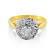 0.65ct. diamond ring set with diamond in engagement ring
