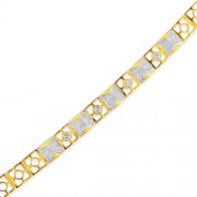 1.36ct. diamond bracelet set with diamond in mens bracelet