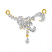 0.46ct. diamond mangalsutra set with diamond in mangalsutra mangalsutra