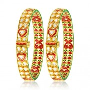 8.25ct. diamond bangles set with diamond in jadau bangles