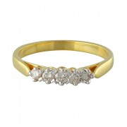 0.31ct. diamond ring set with diamond in engagement ring